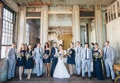 [  Couple Marries in a Former Electrical Parts Factory — Wedding Photos Here!  ] ...... Sometimes the most beautiful wedding venues are the ones no one has ever even thought of. Take Diana and AD's wedding at the Metropolitan Building in Long Island City New York for example......  via.....Matthew Ree Photography | blog.theknot.com
