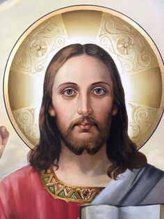 Jesus Our Savior, King Jesus, Heart Of Jesus, Jesus Is Lord, Jesus Christ Painting, Pictures Of Jesus Christ, Bible Images, Jesus Face, Fantasy Art Women