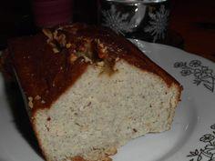 banánový chleba z kokosové mouky
