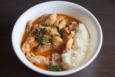 Chicken Panang Curry « The Domestic Man