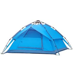 92.00$  Buy here - http://ali6b2.worldwells.pw/go.php?t=32564242713 - Good quality outdoor automatic camping tent Hydraulic automatic tent double layer 3-4 person winter tent sun shelter gazebo 92.00$