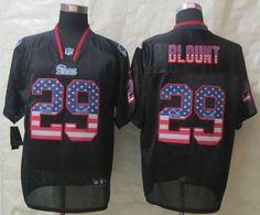 Nike New England Patriots 29 LeGarrette Blount USA Flag Fashion Black Elite Jerseys $ 22.5