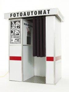 Fotoautomat klassisch - super geniale Idee, sieht toll aus und funktioniert wie ein Fotobooth