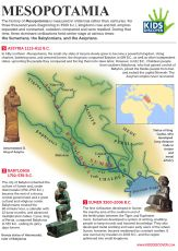 Infographic: Mesopotamia - Infographics in the Classroom - a great 'how to' guide to teach your students how to make their own infograph.  Why not team up with other teachers and make an infograph a project in some of their other subjects - here is an example from history