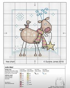 Knitted Christmas Stocking Patterns, Christmas Embroidery Patterns, Cross Stitch Christmas Ornaments, Xmas Cross Stitch, Cross Stitch Cards, Cross Stitch Alphabet, Cross Stitch Animals, Christmas Cross, Cross Stitching