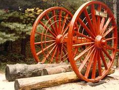 Big Wheels at Hartwick Pines Logging Museum