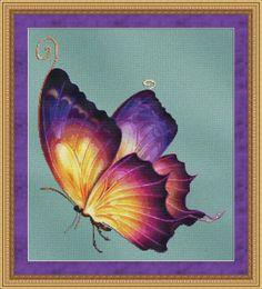 Flutter #2 Cross Stitch