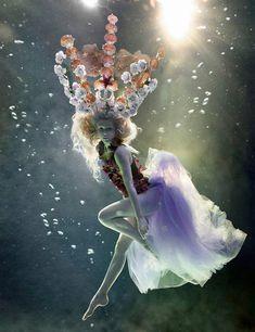 Underwater Fashion ~ Basia Zarzycka