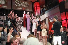 [Fashionweek Berlin] Samuel Sohebi presented by Huawei.
