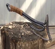 What a wonderful design in many ways - Homemade weapons, Welding projects, Knife Diy knife, Blacksmith projects, Welding – What a wonder - Kids Woodworking Projects, Welding Art Projects, Metal Art Projects, Blacksmith Projects, Metal Crafts, Diy Welding, Welding Ideas, Welding Crafts, Welding Helmet