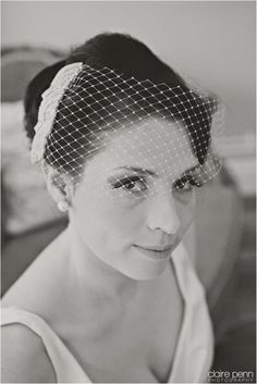 Birdcage veil.  Isla Jean Bridal Boutique, Cheshire Manchester. http://marrymeink.co.uk/2014/01/16/introducing-isla-jean-bridal-boutique/