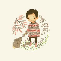 Children's Illustration by Teagan White, via Behance
