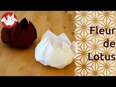 How To Make an Origami Lotus Flower, Видео, Смотреть онлайн Origami Lotus Flower, Paper Craft Supplies, Paper Napkins, Diy Gifts, Backdrops, Crafts For Kids, Projects To Try, Entertaining, Occasion