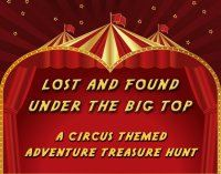 Circus Themed Treasure Hunt  Lost and Found by QuestAdventures, $14.95