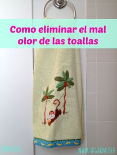 #Toallas: Como eliminar los malos olores fácilmente y para siempre! {Lavar primero con #vinagre y luego con #bicarbonato}