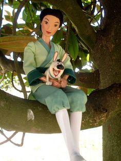 Secret hero Mulan doll from Mattel, with Fratellino | Flickr - Photo Sharing!