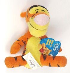 "Walt Disney Winnie The Pooh TIGGER Bath And Shower Sponge Soft Plush Toy 8"" | eBay"