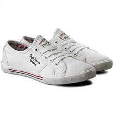 Tenisky PEPE JEANS - Aberlady Basic 17 PLS30500 White 800