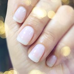 Natural Looking Gel Nails on Pinterest | Gel Nails French, Gel Nails