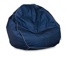 Navy/Light Grey Citta Design Bean Bag