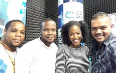 Live In The Sky was nice with @vanessa_briggs_  and  #marcushypolite @kolarz1 #route4to7 @sky995fm