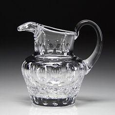 """William Yeoward Crystal """"Olive Cream Jug"""