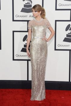Grammy Awards 2014 - Taylor Swift in Gucci Première