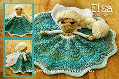 Elsa Princess Lovey FREE Crochet Pattern