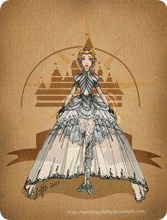 Disney steampunk: Cinderella by MecaniqueFairy on DeviantArt