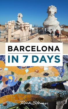 Heading to Barcelona, Spain? These itineraries will help you plan your sightseeing.