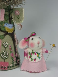 Needle Felting / Needle Felted Creations By Barby Anderson: June 2011