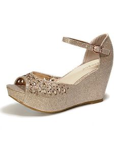 Another great find on #zulily! Nude Renata Cutout Wedge #zulilyfinds