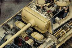 Model Tanks, Anubis, Panzer, Luftwaffe, Plastic Models, Scale Models, It Works, Modeling, Interior