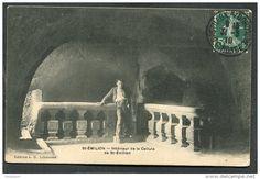 Intérieur de la cellule de St-Emilion-Cartes Postales > Europe > France > [33] Gironde > Saint-Emilion - Delcampe.fr