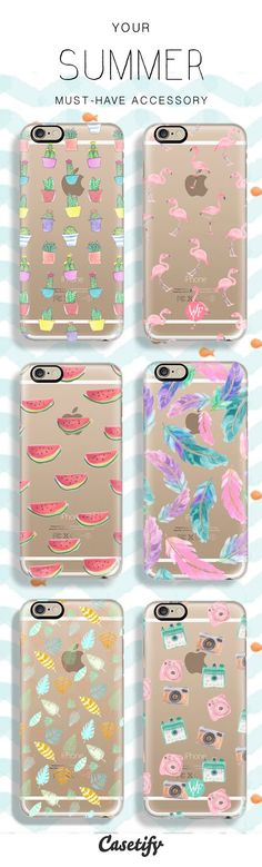 Your Phone needs a Summer Makeover too! Check out some of our newest and all time favourite Summer phone cases! #Iphone6Cases
