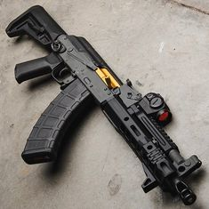 Airsoft hub is a social network that connects people with a passion for airsoft. Talk about the latest airsoft guns, tactical gear or simply share with others on this network Arsenal, Tactical Rifles, Firearms, Shotguns, Ak 47 Tactical, Weapons Guns, Guns And Ammo, Ak Pistol, Aigle Animal