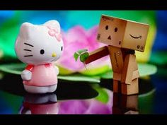 Danbo and Hello Kitty wallpaper Wallpaper Computer, Sf Wallpaper, Widescreen Wallpaper, Wallpaper Pictures, Colorful Wallpaper, Photo Wallpaper, Danbo, Happy Birthday Love Images, Luis Martins