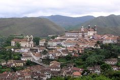 Ouro Preto in Brazil   Ouro Preto (Black Gold), in Brazil's Minas Gerais province, is a small town reminiscent of the country's golden age in the 17th and 18th centuries. However, the many churches, buildings, bridges, and fountains are a permanent link to its glorious past. Being rich in gold and other resources, the region of Minas Gerais was littered with mines, and Ouro Preto was its capital from 1720 until 1897. Perched on the steep slopes and hills of the Vila Rica (Rich Valley), the…