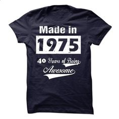 Born in 1975 - #tshirt yarn #old tshirt. PURCHASE NOW => https://www.sunfrog.com/LifeStyle/Born-in-1975-30015734-Guys.html?68278