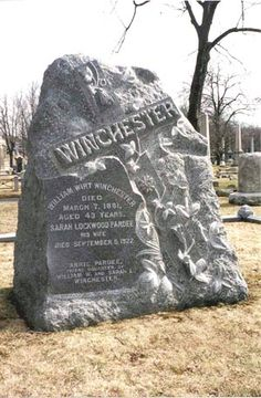 Sarah Lockwood Pardee Winchester; she owned the Winchester mystery house. It is said that she kept adding rooms to the house to appease the spirits of the people who were killed by the Winchester Rifles that the family produced.
