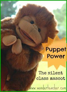 Your Class Needs A Puppet Mascot!
