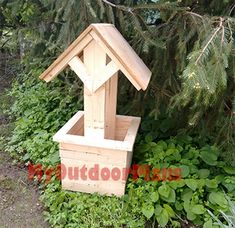How to Build a Wishing Well Planter | Free Outdoor Plans - DIY Shed, Wooden Playhouse, Bbq, Woodworking Projects
