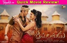 Srimanthudu quick movie review: Mahesh Babu and Shruti Haasan's cute romance is the USP of the first half! #Srimanthudu