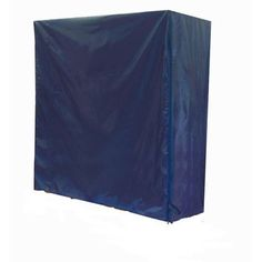 (eBay Ad Link) 72 In. W X 60 In. H X 24 In. L Blue Nylon Nesting Z Garment Rack Cover Portable Wardrobe, Portable Closet, Commercial Clothing Racks, Utility Shelves, No Closet Solutions, Closet Drawers, How To Store Shoes, Garment Racks, Store Fixtures