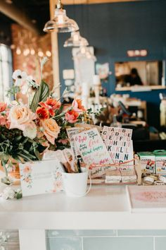 A Gorgeous, Cherry Blossom-Filled Spring Baby Shower