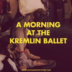 C&V Sessions: A morning of class at rehearsal at the Kremlin Ballet with Joy Womack. Read the photo essay at: http://bit.ly/1oCqx6m