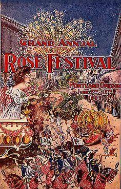 Rose Festival 1909 Portland Oregon