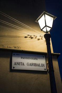 Genova Nervi passeggiata Anita Garibaldi