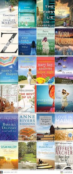 "2013 ""Must Read"" Books- nice to have a list of new books I will NEVER get to."