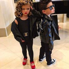 DIY Sandy and Danny Costumes from u0027Greaseu0027.  sc 1 st  Pinterest & 1950s style 1950s costume kid costume 1950s the 50s style 50s ...